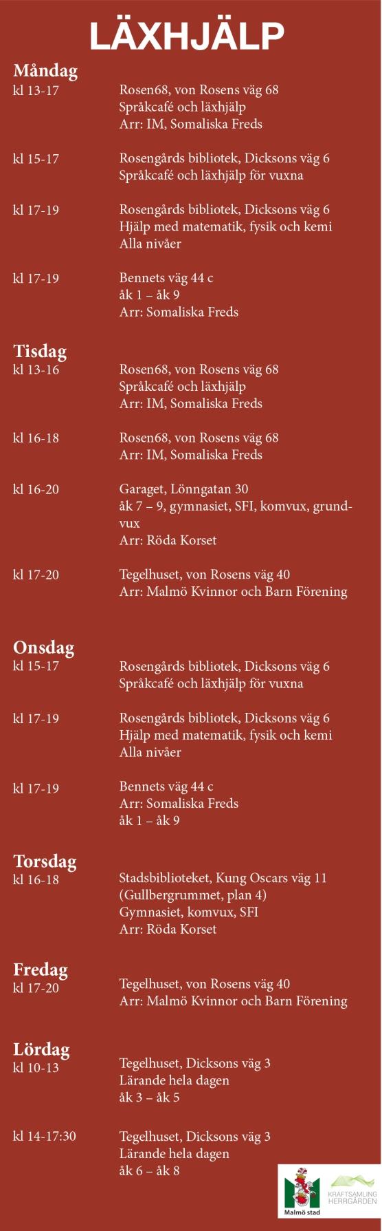 Läxhjälp Rosengård