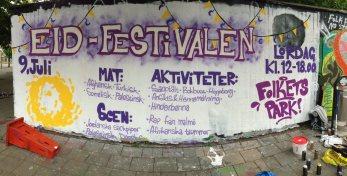 Eid-festival Folkets Park 2016